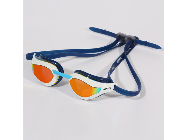 Zone3 Viper Speed Swim Lunettes de protection, mirror lens/navy/white